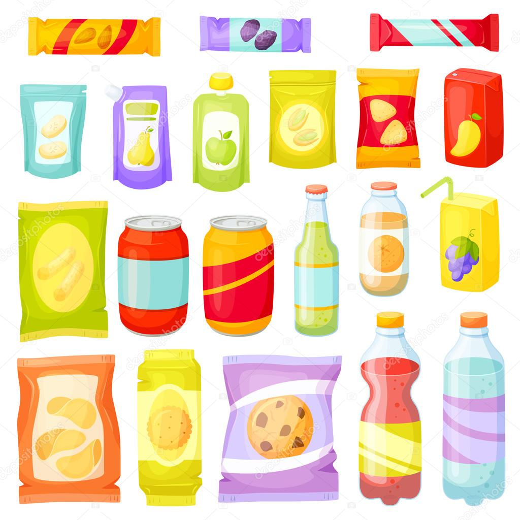 Snack pack set