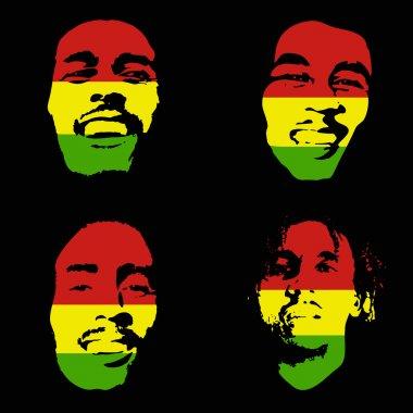 Bob Marley portrait