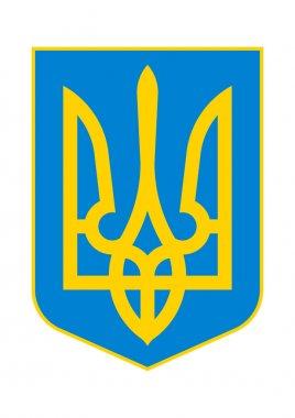 Coat of Arms of Ukraine.