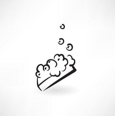 Soapy sponge icon