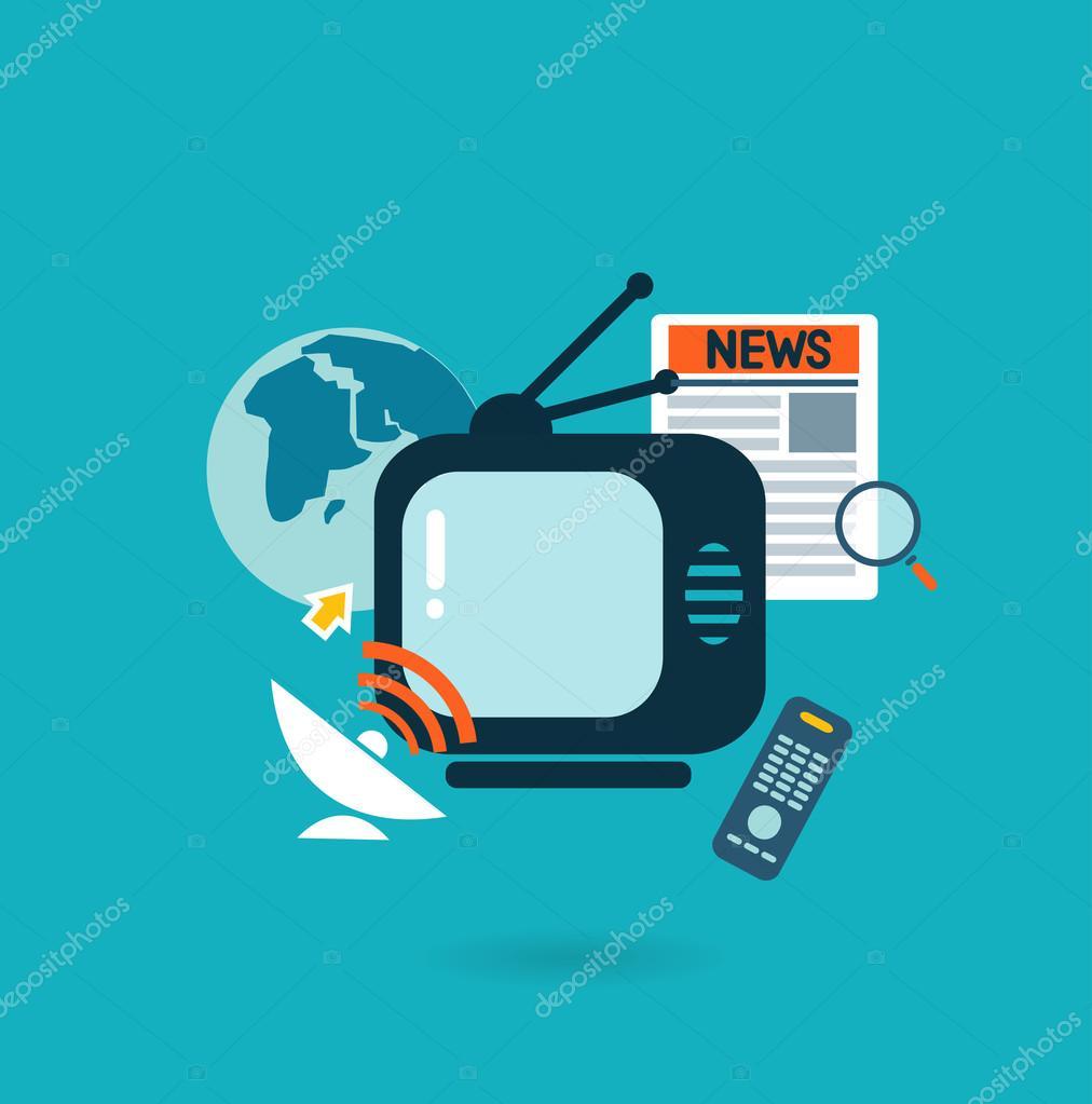 Concept for mass media