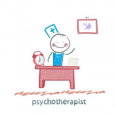 Psychotherapist  working