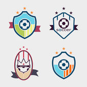 Fényképek Készlet-ból foci Labdarúgás címerek