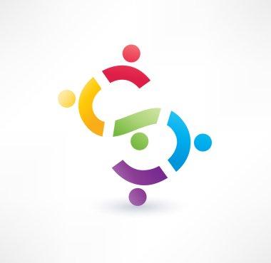 Cooperation icon.