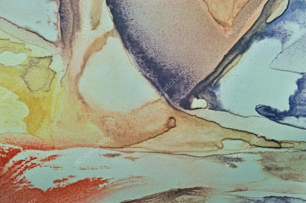 Textile Paint On Canvas