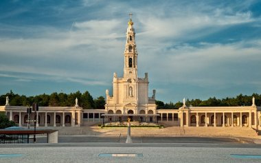 Sanctuary of Our Lady of Fatima in Fatima, Portugal