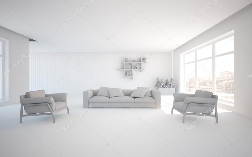 Moderne Innenarchitektur Wohnzimmer U2014 Stockfoto