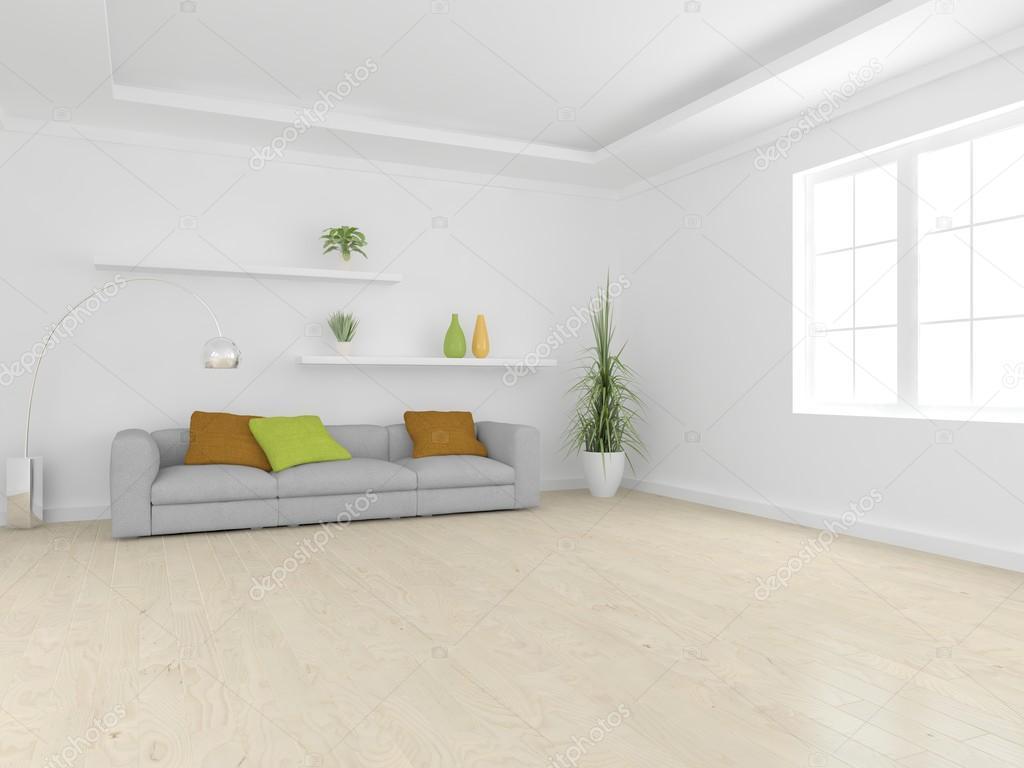Lovely Weiße Moderne Innenraum Konzept U2014 Foto Von Antoha713