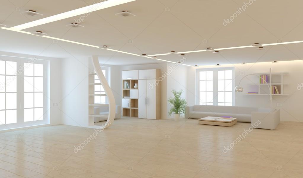 Weiße Moderne Innenraum Konzept U2014 Foto Von Antoha713