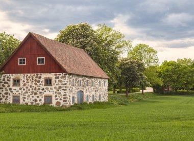 Traditional stone barn