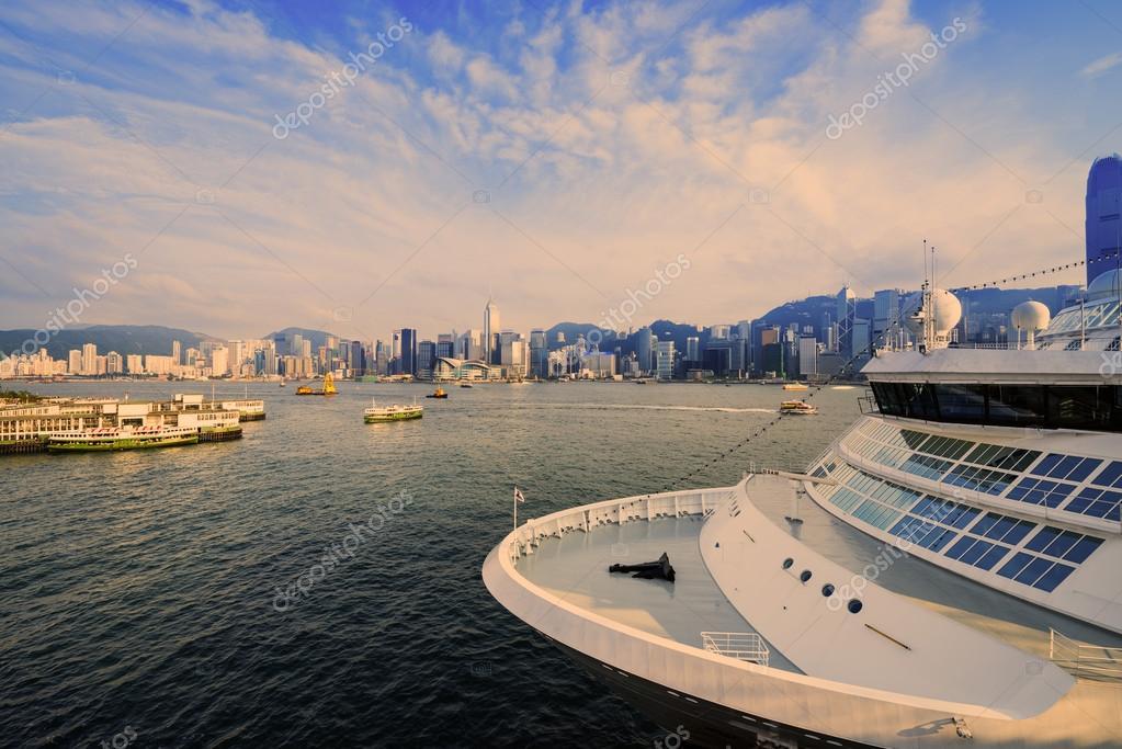 Фотообои Гонконг