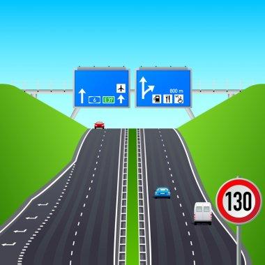 Autobahn infographics