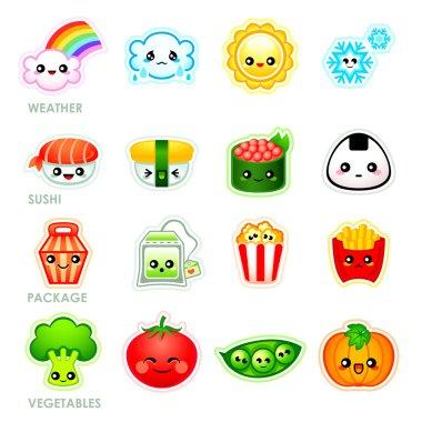 Kawaii stickers - Set II