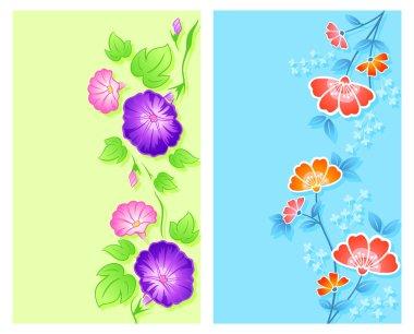 Floral curtains de