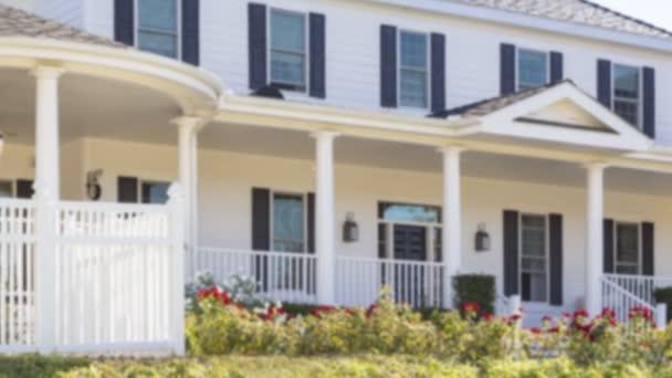 Schwenken Haus zu verkaufen Immobilien Zeichen und Haus