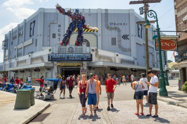 The new  Transformers 3D ride at Universal Studios Florida