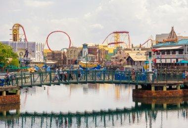 The  Universal Studios Florida theme park