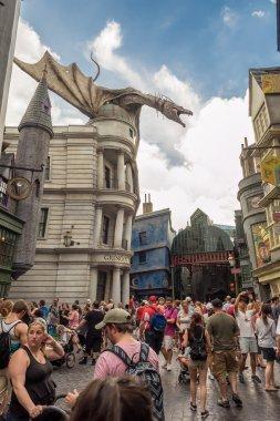 The Harry Potter ride at Universal Studios Florida