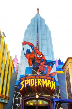 Spiderman ride at Universal Studios Islands of Adventure