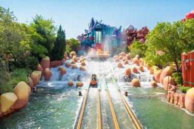 Water based ride  at Universal Studios Islands of Adventure