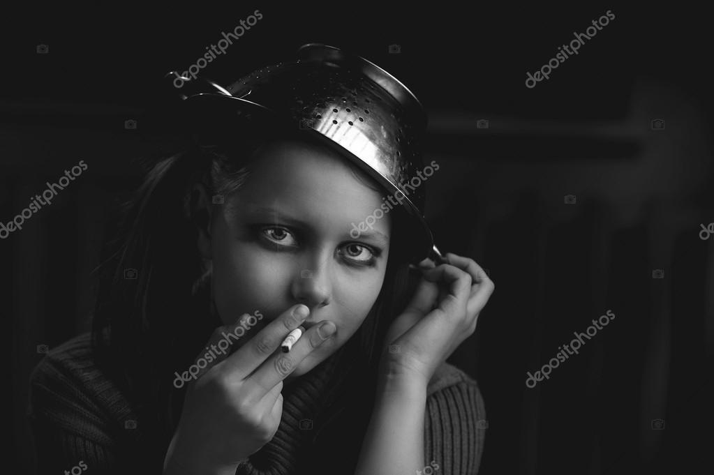 Kouření panenky