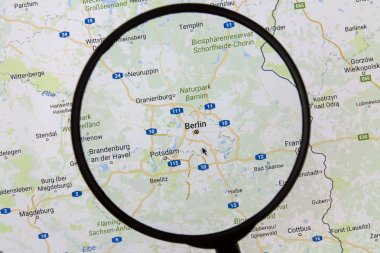 Berlin on Google Maps