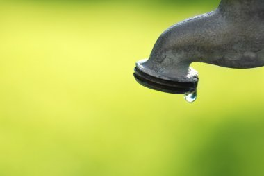 Dripping Faucet with Water Drop