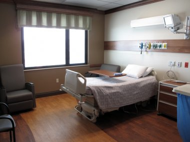 Hospital Room and Bed