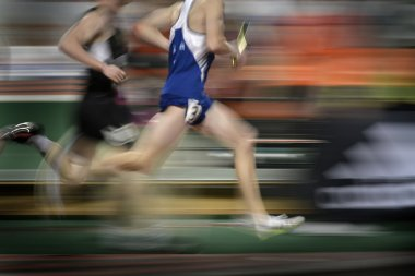 Running a Relay Race on Tract Holding Baton