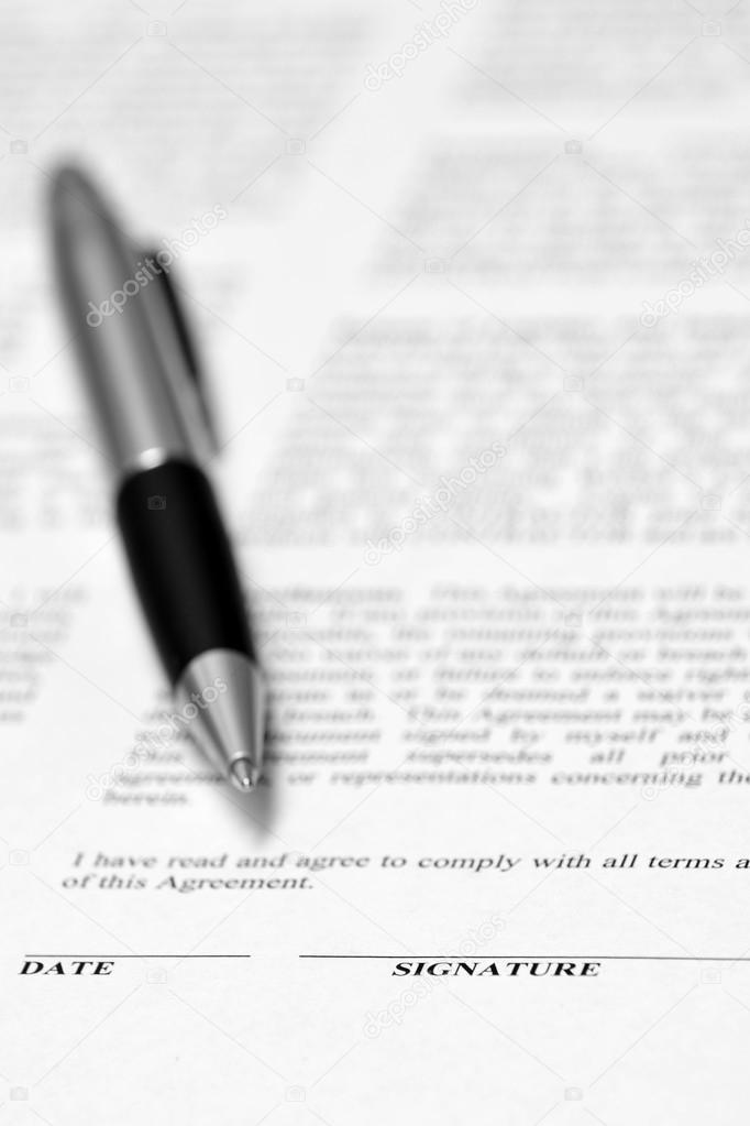 Dating signaturer kontrakt