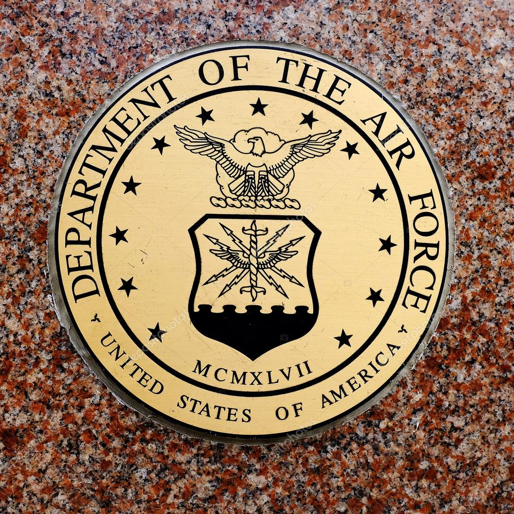 Symbols of USA Military Army Navy Airforce Marines — Stock Photo