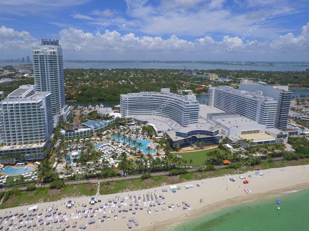 Fontainebleau Hotel Miami Beach Redaktionelles Stockfoto C Felixtm
