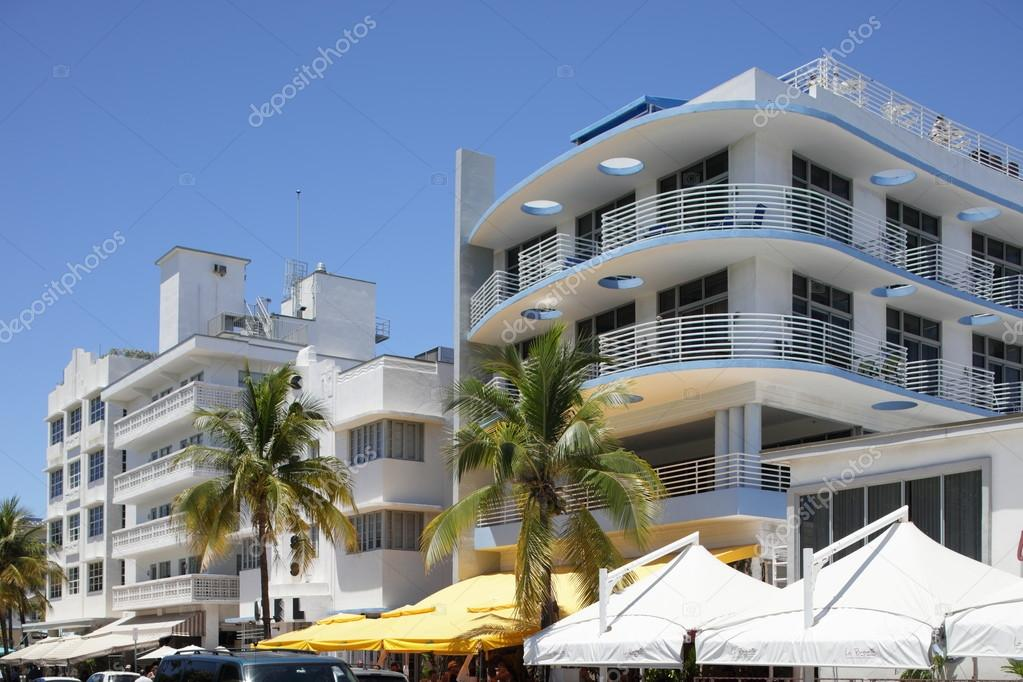 Restaurants On Ocean Drive Stock Editorial Photo Felixtm 75856325