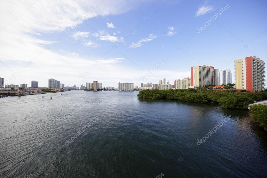 Intracoastal waterway Miami — Stock Photo © felixtm #78177798