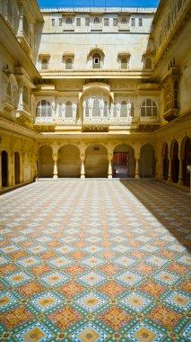 Junagarh Fort inner court