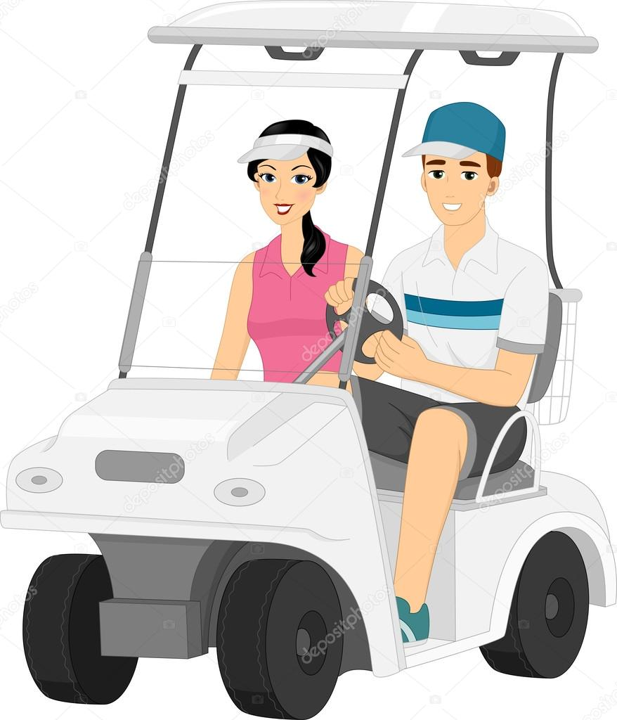 ᐈ Clip Art Golf Cart Stock Images Royalty Free Golf Cart Cartoon Photos Download On Depositphotos