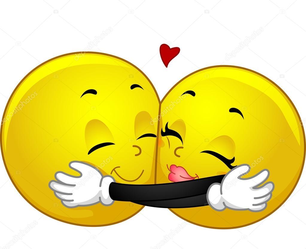 Resultado de imagen de emoticonos abrazo