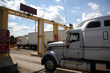 Truck Border Crossing