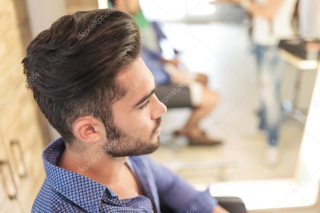 Peinados casuales hombre