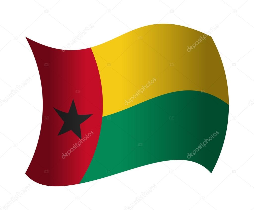 風になびかせてギニア ギニアビ...