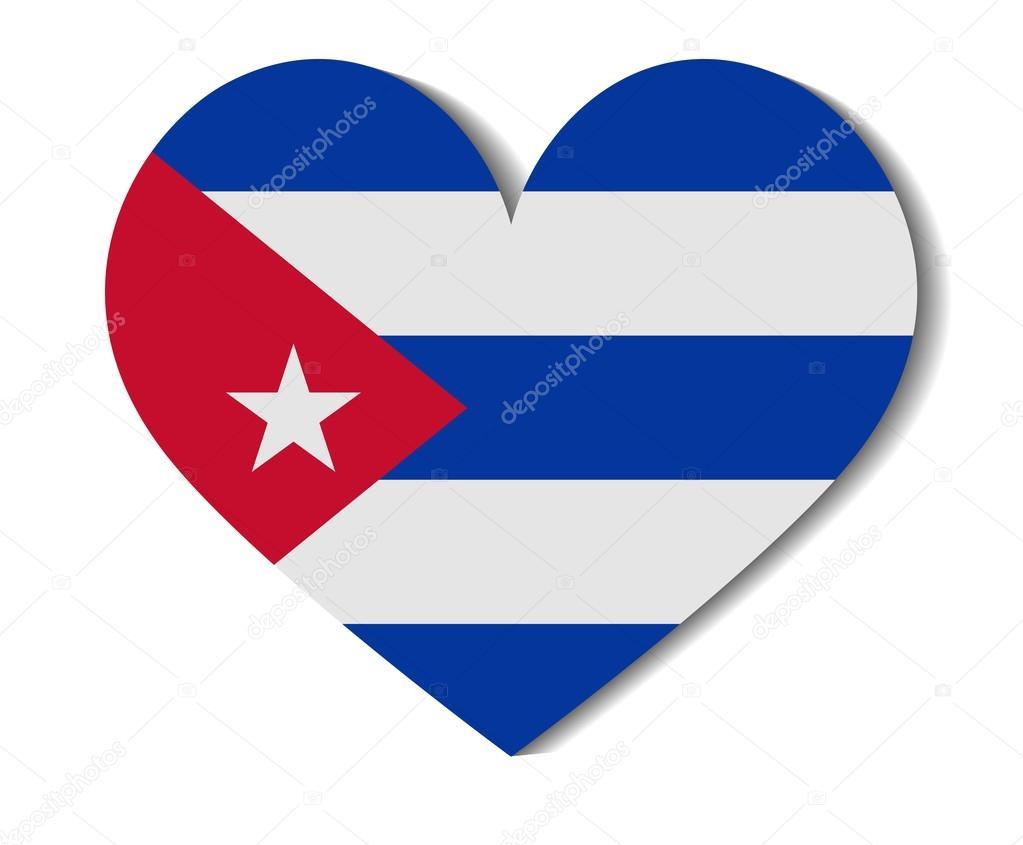 Corazón De La Bandera Cuba