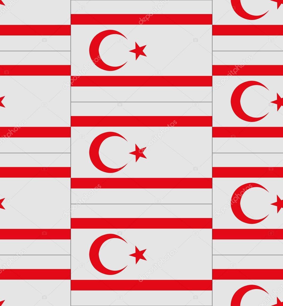 Northern Cyprus Flag Texture Vector Stock Vector Noche0 62110287
