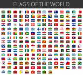 Fotografie world flags vector