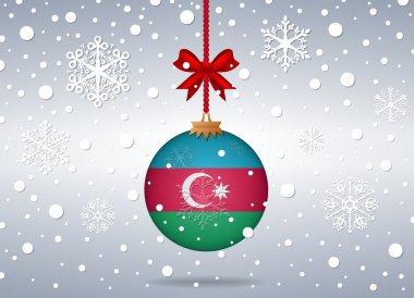 christmas background azerbaijan