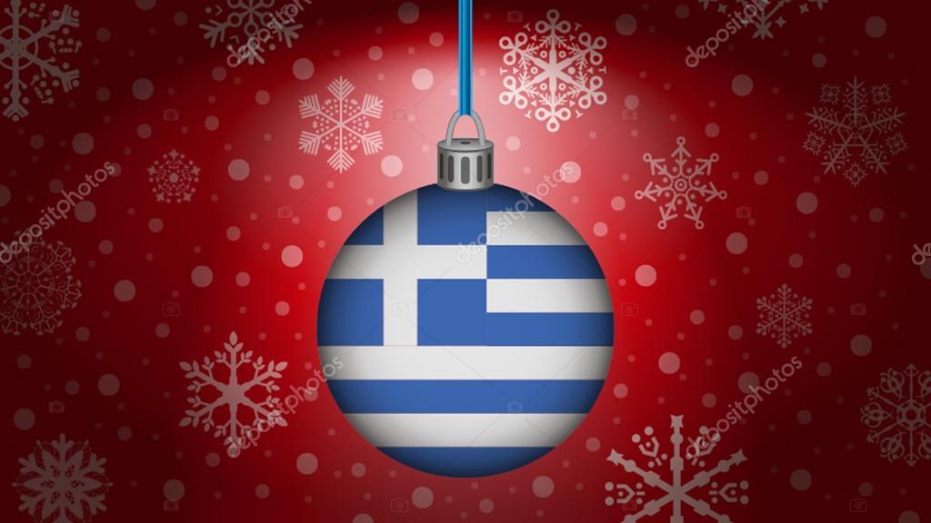 Weihnachten In Griechenland Bilder.Weihnachten In Griechenland Stockvektor Noche0 93655848