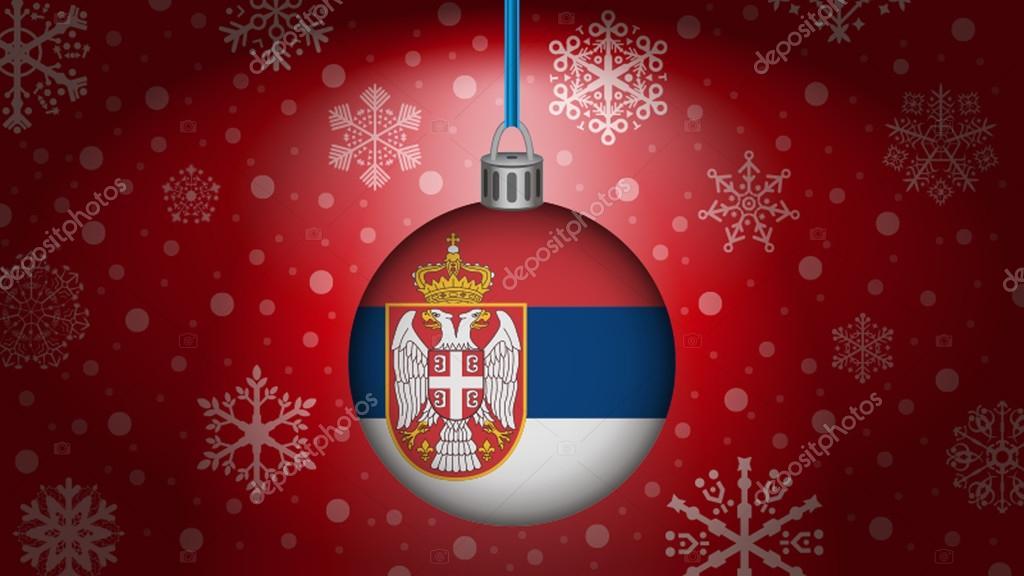 Serbien Weihnachten