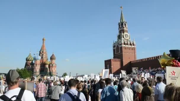 Nesmrtelný Regiment v Moskvě