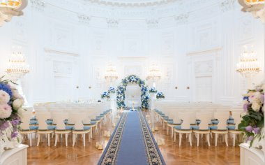 Wedding ceremony hall