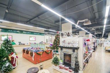 Modern store interiror