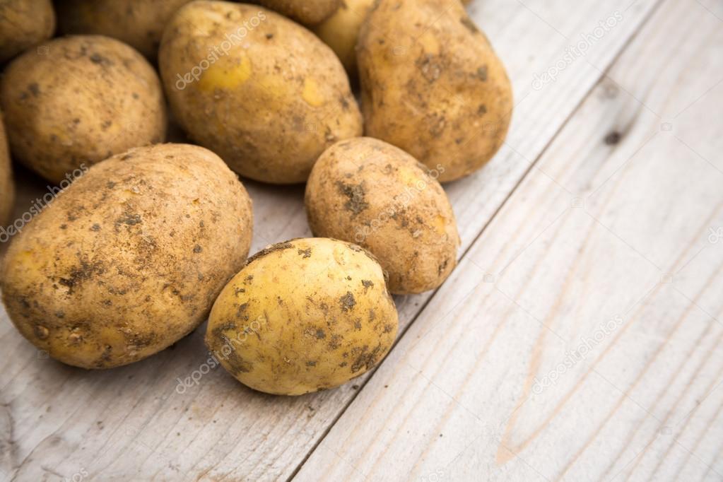 картофель неочищенный